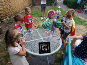 Superhelden feest voorbeeld